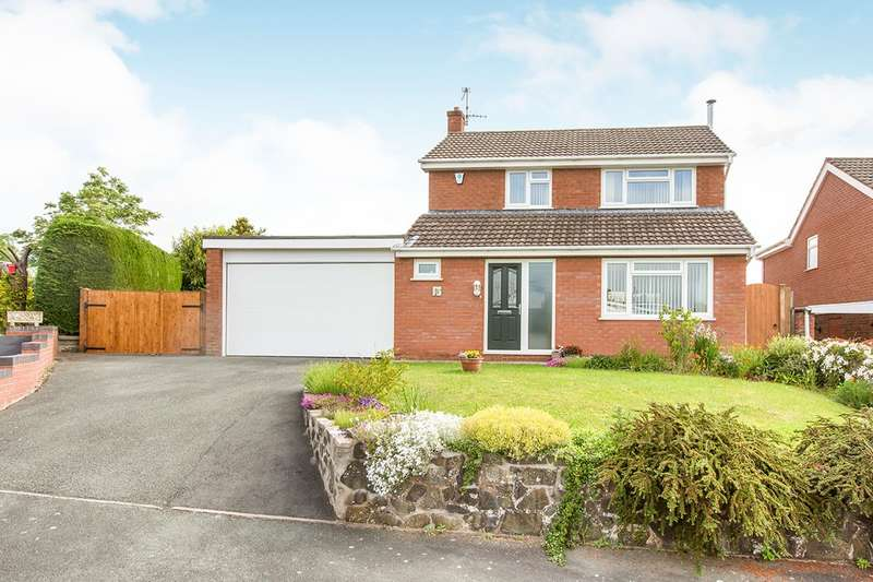 3 Bedrooms Detached House for sale in Oerley Close, Oswestry, Shropshire, SY11