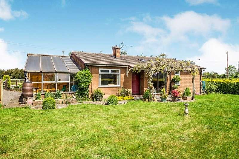 2 Bedrooms Detached Bungalow for sale in Oaklea, Llandrinio, Llanymynech, Powys, SY22
