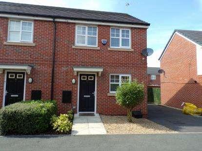2 Bedrooms Semi Detached House for sale in Plumer Drive, Birkenhead, Merseyside, CH41
