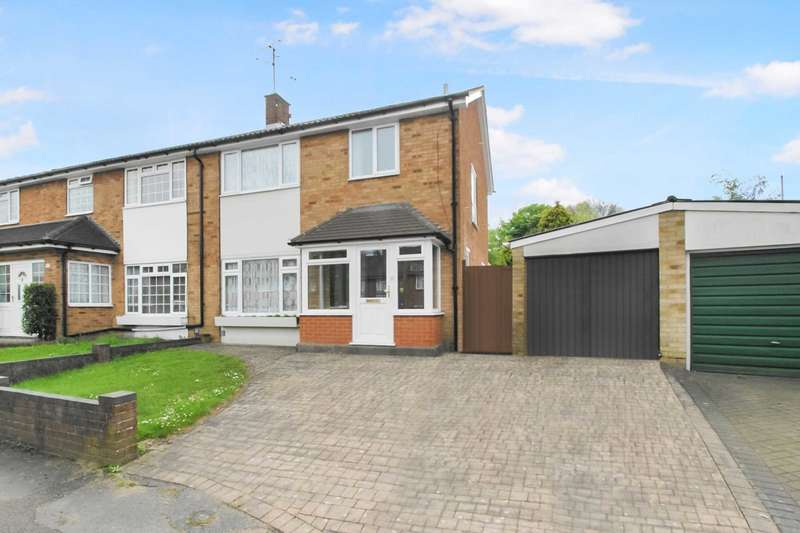 3 Bedrooms Semi Detached House for sale in NO CHAIN! 3 BED SEMI with OFF ROAD PARKING & GARAGE