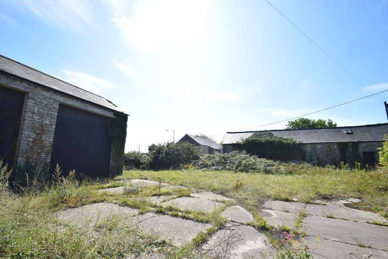 Land Commercial for sale in Two Stone Barns and Yard, Pyle Road, Nottage, Porthcawl, Bridgend County Borough, CF36 3SY