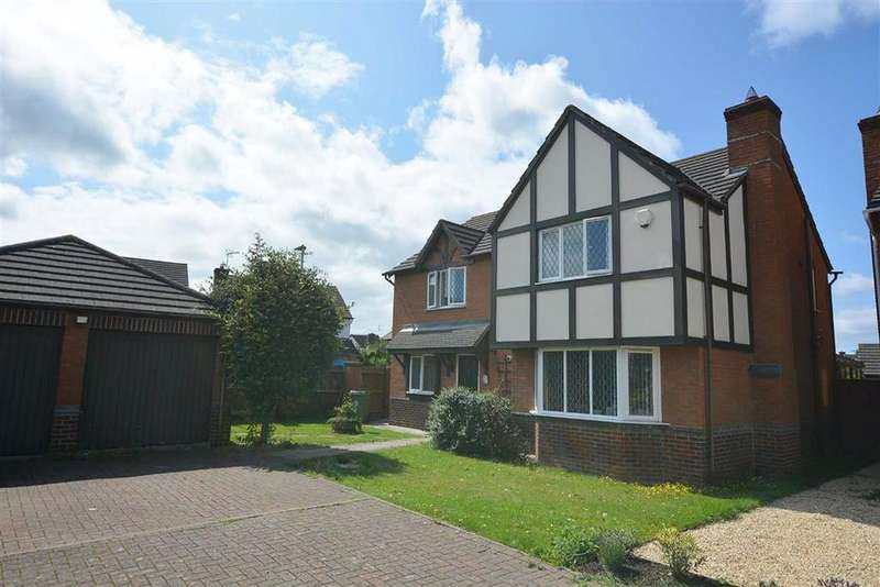 4 Bedrooms Detached House for sale in Peagsus Gardens Quedgeley
