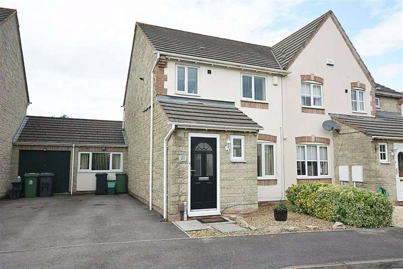 3 Bedrooms Semi Detached House for sale in Griffon Close, Quedgeley