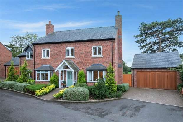 5 Bedrooms Detached House for sale in Beeches Close, Malpas, Cheshire