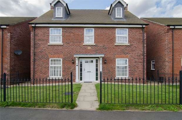 5 Bedrooms Detached House for sale in Sunflower Way, Boston, Lincolnshire