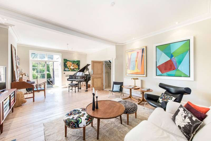 5 Bedrooms Semi Detached House for sale in Bath Road, Chiswick, London, W4