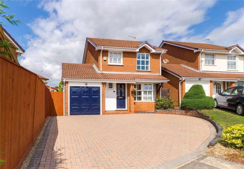 3 Bedrooms Detached House for sale in Delafield Drive, Calcot, Reading, Berkshire, RG31