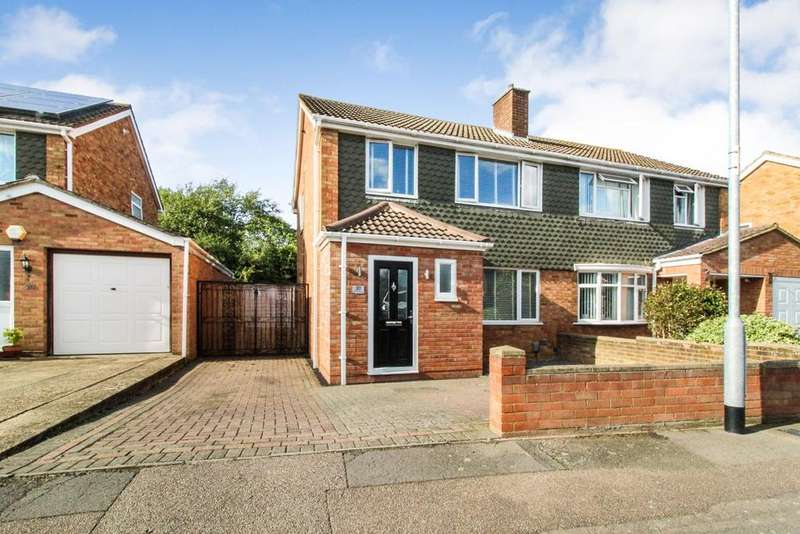 3 Bedrooms Semi Detached House for sale in Wansbeck Road, Bedford