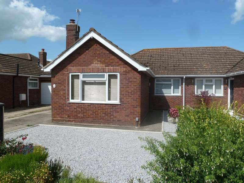 3 Bedrooms Semi Detached Bungalow for sale in Wishford Close, Longlevens, Gloucester, GL2