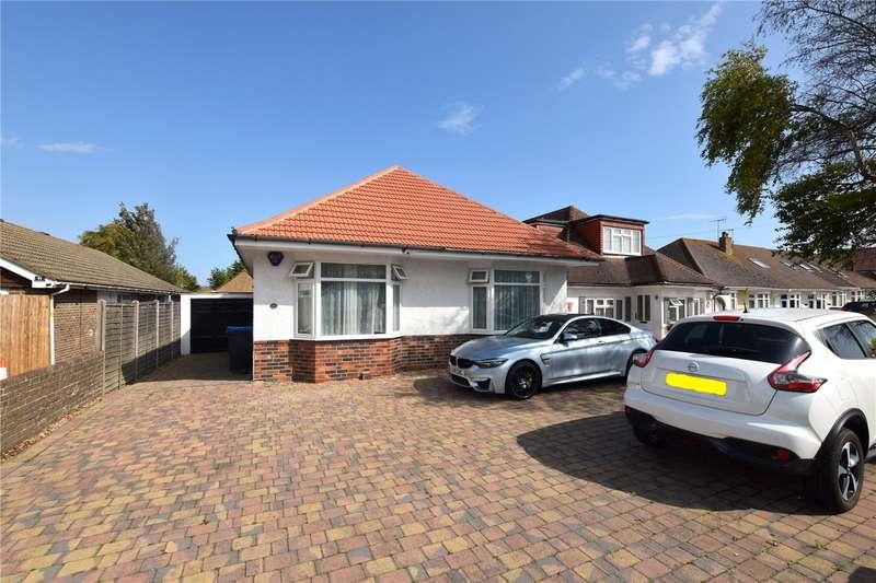 3 Bedrooms Detached Bungalow for sale in Grinstead Lane, Lancing, West Sussex, BN15