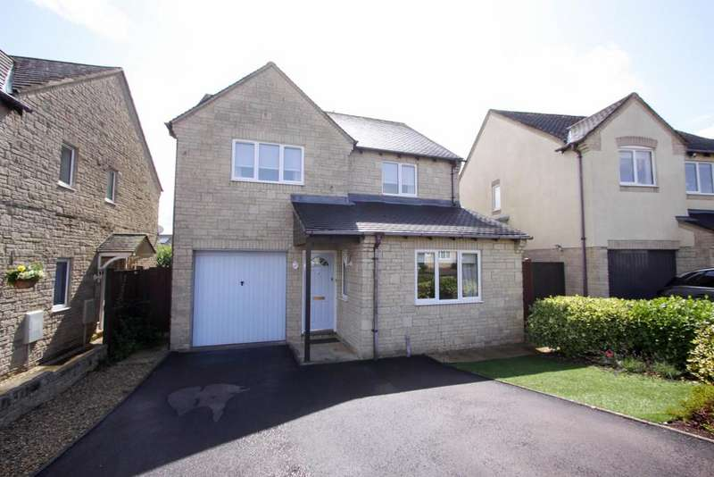 4 Bedrooms Detached House for sale in Lark Rise, Chalford, GL6 8FF