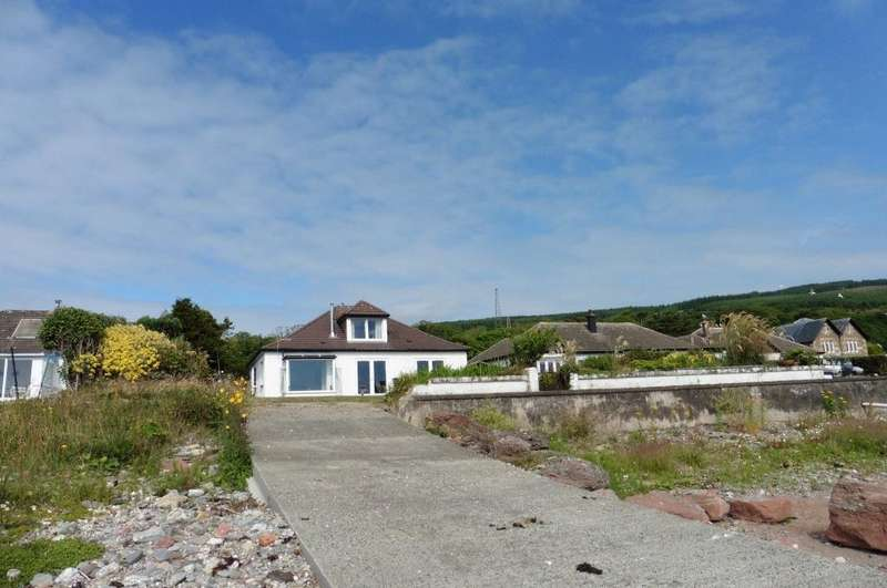 3 Bedrooms Detached Bungalow for sale in Tignnamara Shore Rd, Toward, PA23 7UG