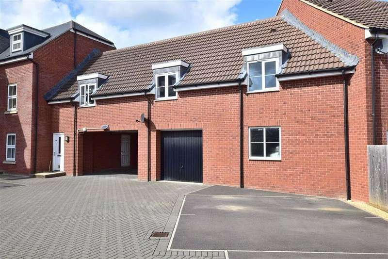 2 Bedrooms Coach House Flat for sale in Yew Tree Road, Brockworth, Gloucester
