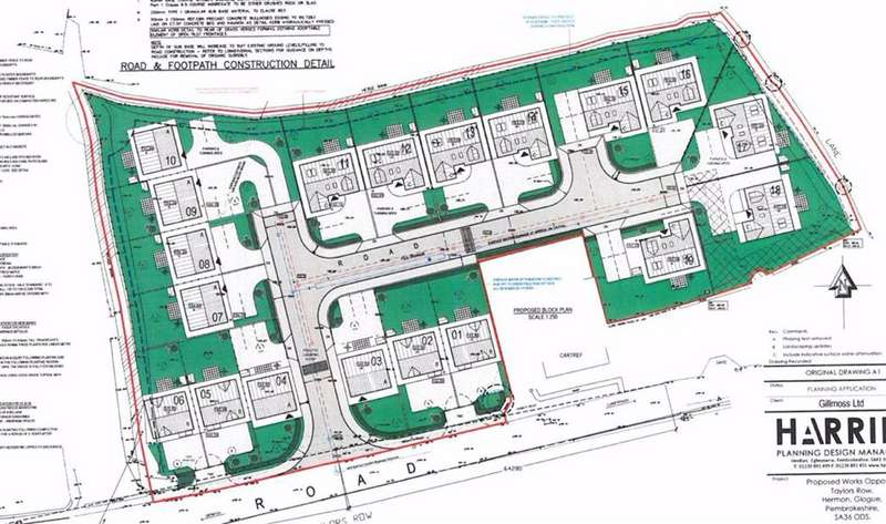 Land Commercial for sale in HERMON, Pembrokeshire