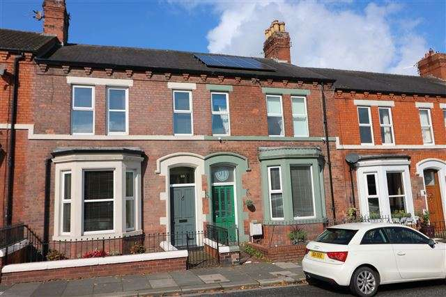 4 Bedrooms Terraced House for sale in Scotland Road, Carlisle, Cumbria, CA3 9HL