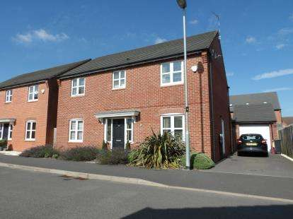 4 Bedrooms Detached House for sale in Farley Crescent, Ibstock, Leicestershire