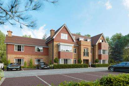 2 Bedrooms Flat for sale in Carrington House, Brimstage Road, Heswall, Wirral, CH60