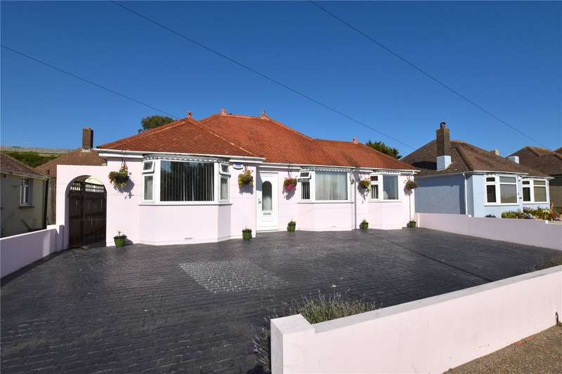 4 Bedrooms Detached Bungalow for sale in Western Road, Lancing, West Sussex, BN15