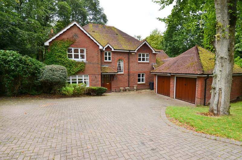 5 Bedrooms Detached House for sale in The Badgers, Barnt Green, Birmingham, B45