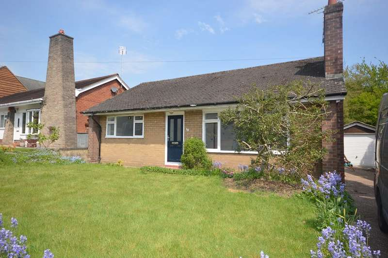 2 Bedrooms Detached Bungalow for sale in Mill Hill Lane, Sandbach, CW11 4PN