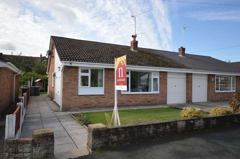 2 Bedrooms Semi Detached Bungalow for sale in Brookland Drive, Sandbach, CW11 2LZ