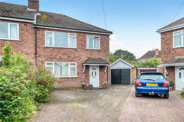 3 Bedrooms Semi Detached House for sale in Leagh Close, Kenilworth, Warwickshire