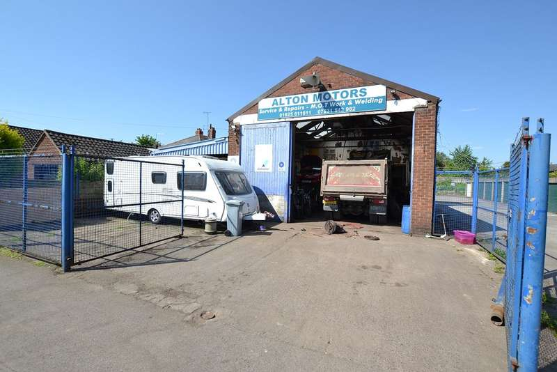 Commercial Property for sale in Cow Lane Garage, Cow Lane, Macclesfield, SK11 7PZ