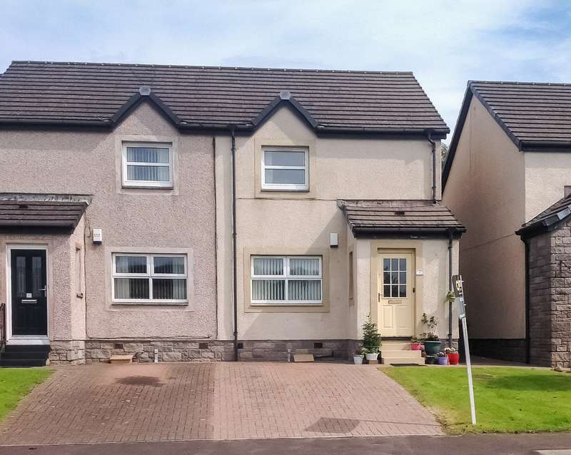2 Bedrooms End Of Terrace House for sale in River View, Patna, Ayrshire, KA6