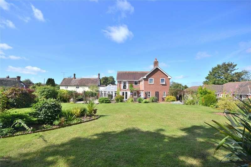 4 Bedrooms Detached House for sale in Blandford Road, Iwerne Minster, Blandford Forum, Dorset, DT11