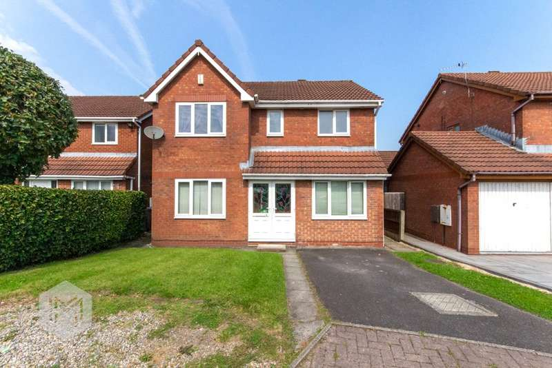 4 Bedrooms Detached House for sale in Reedbank, Radcliffe, Manchester, M26