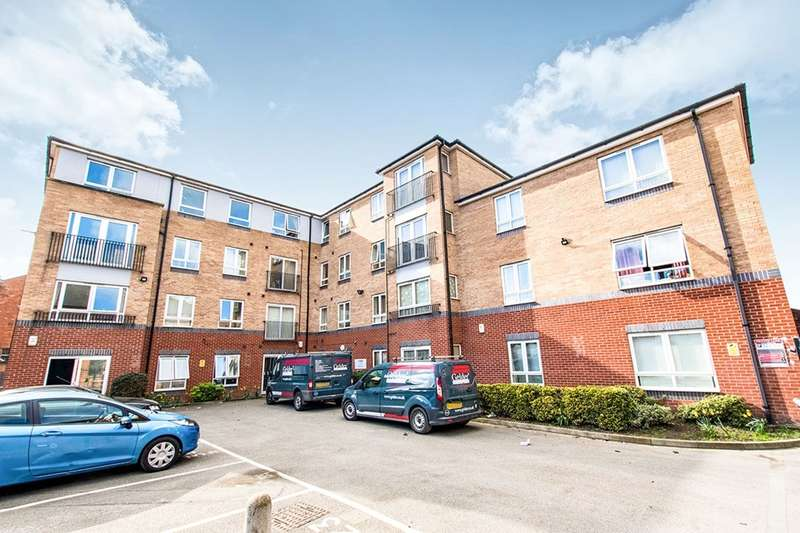 2 Bedrooms Apartment Flat for sale in Tanners Court, Lincoln, LN5