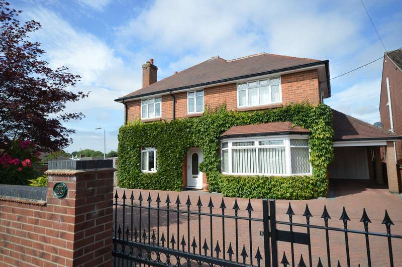 3 Bedrooms Detached House for sale in Strawberry Lane, Blackfordby, Swadlincote, Leicestershire, DE11