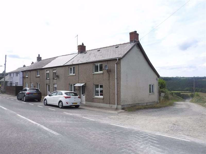 2 Bedrooms Semi Detached House for sale in 3 Penlon Cottages, Blaen-Cil-Llech, Newcastle Emlyn, Carmarthenshire