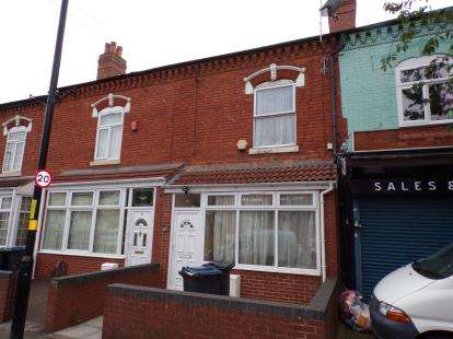 3 Bedrooms Terraced House for sale in Showell Green Lane, Sparkhill, Birmingham, West Midlands
