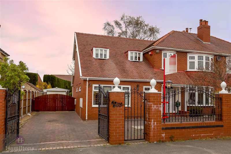 4 Bedrooms Semi Detached House for sale in St Helens Road, Pennington, Leigh, Greater Manchester. WN7 3UA