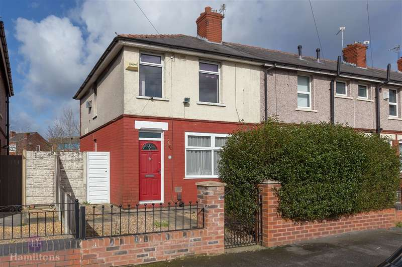 2 Bedrooms Terraced House for sale in Rugby Road, Leigh, Greater Manchester. WN7 3HB