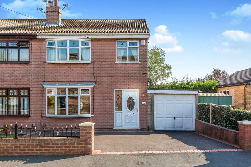 3 Bedrooms Semi Detached House for sale in Brentwood, Wigan, Greater Manchester, WN5