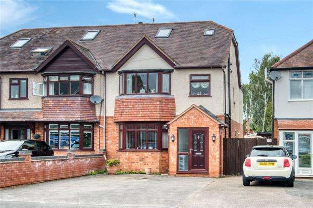 4 Bedrooms Semi Detached House for sale in Moorlands Avenue, Kenilworth, Warwickshire