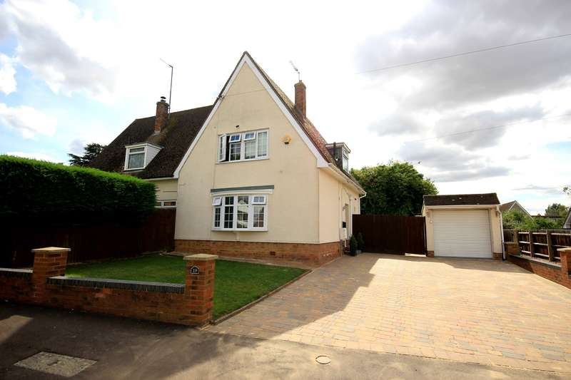 3 Bedrooms Semi Detached House for sale in St James Close, Pulloxhill, MK45
