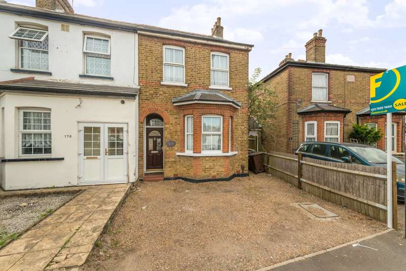 3 Bedrooms Semi Detached House for sale in Hatton Road, Bedfont, TW14