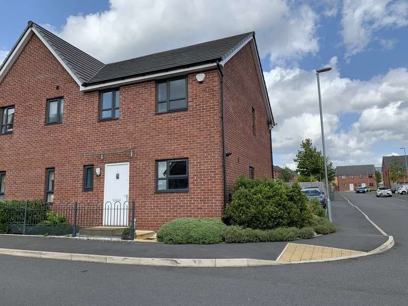 3 Bedrooms Semi Detached House for sale in Bugle Close, Salford, Greater Manchester, M7