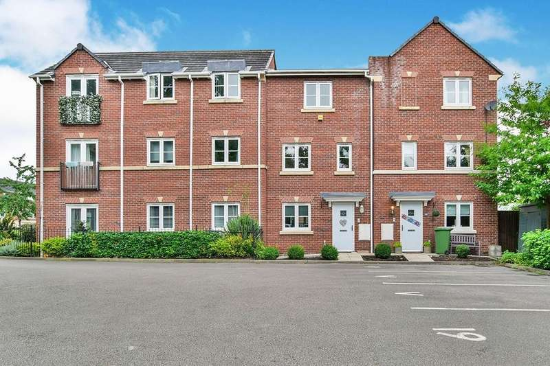 3 Bedrooms Terraced House for sale in Great Oak Square, Mobberley, Knutsford, WA16