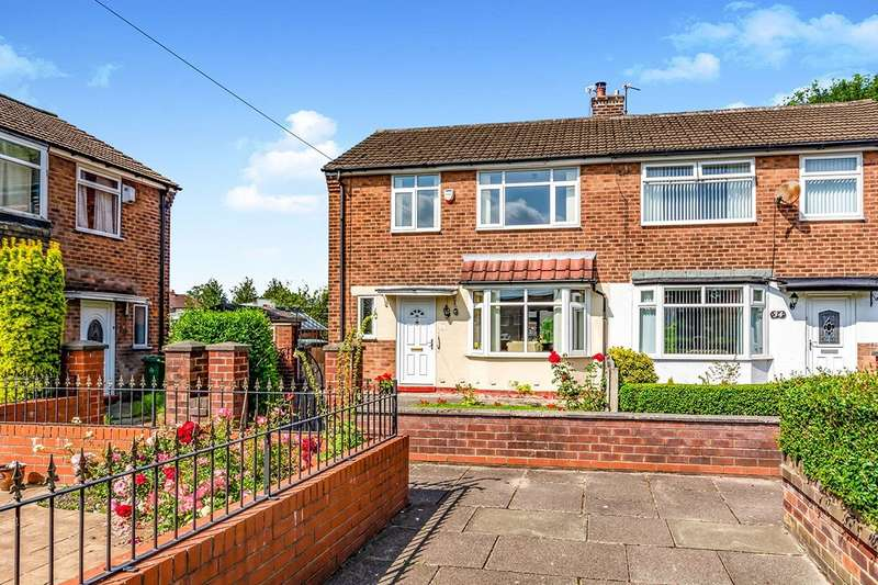 3 Bedrooms Semi Detached House for sale in Ashwood Avenue, Denton, Manchester, M34