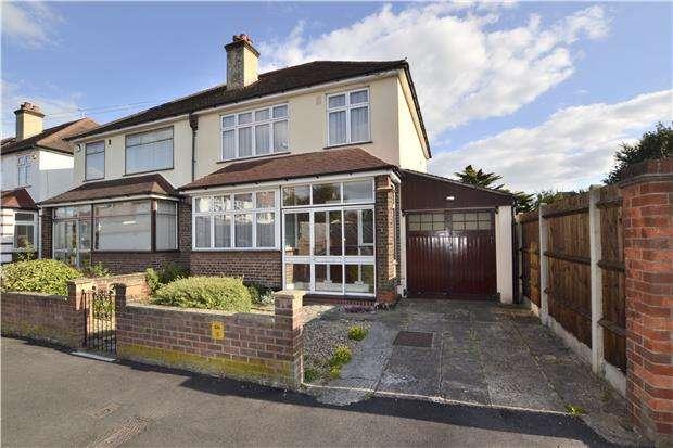 3 Bedrooms Semi Detached House for sale in West Avenue, WALLINGTON, Surrey, SM6 8PH