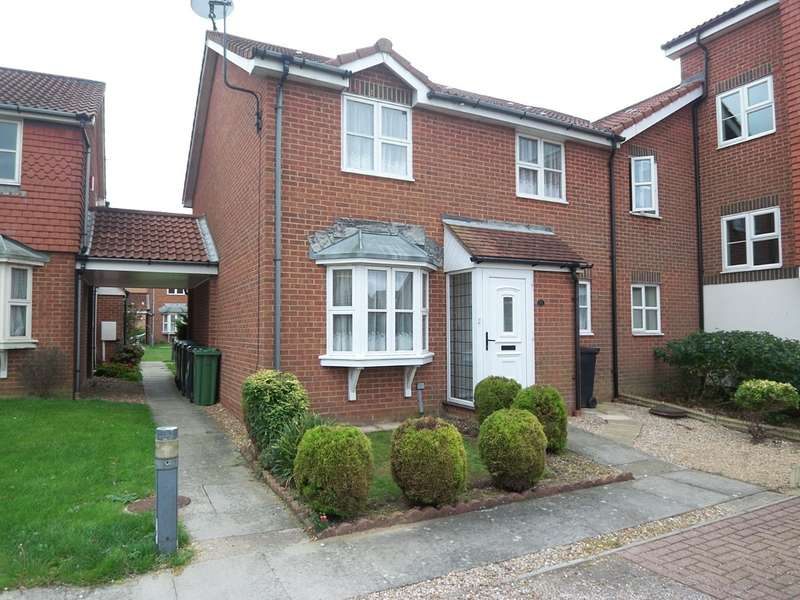 2 Bedrooms Semi Detached House for rent in The Portlands, Eastbourne