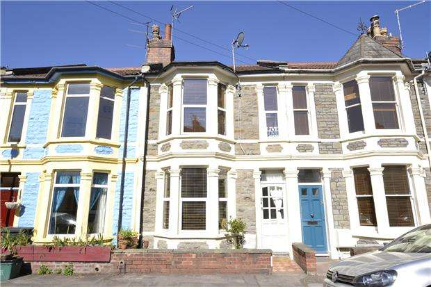 3 Bedrooms Terraced House for sale in Camerton Road, Greenbank, Bristol, BS5 6HN