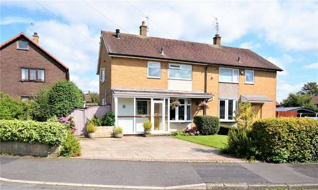 2 Bedrooms Semi Detached House for sale in Pickmere Road, Handforth, Wilmslow, Cheshire