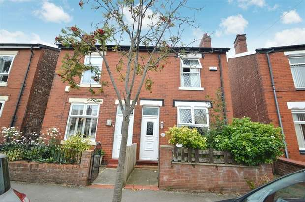 2 Bedrooms Semi Detached House for sale in Vicarage Road, Cale Green, Stockport, Cheshire