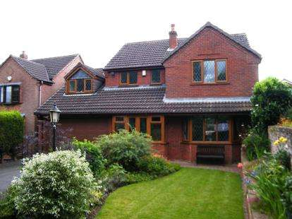4 Bedrooms Detached House for sale in Croft Gardens, Burntwood