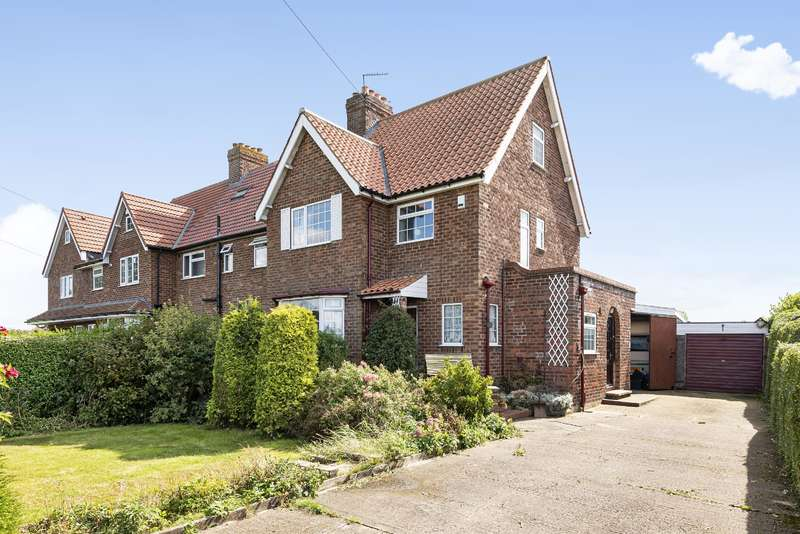 3 Bedrooms Semi Detached House for sale in Vicarage Lane, Naburn, York, YO19 4RS